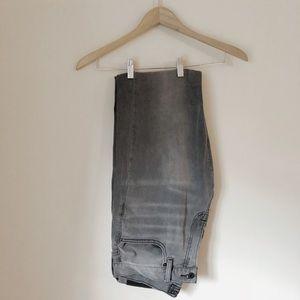 🌿 Lucky Brand 221 Straight Dark Grey Jeans 32x32